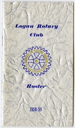 Logan Rotary Club Roster, 1958-59