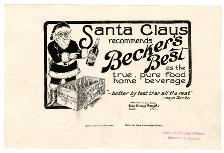 Advertisement for Becker's Best (25 of 29), c. 1915