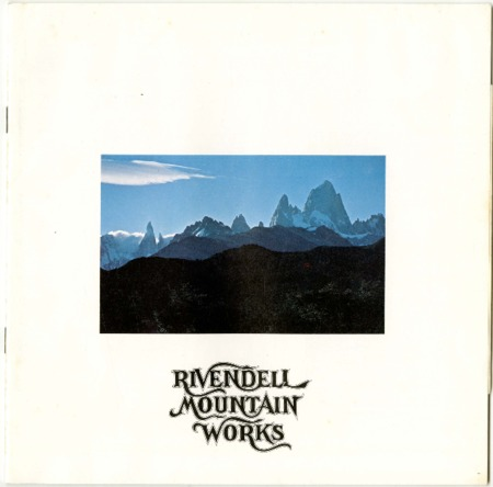Rivendell Mountain Works, Mountain, undated