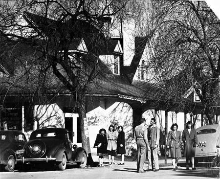 College Bluebird, campus restaurant, 1947