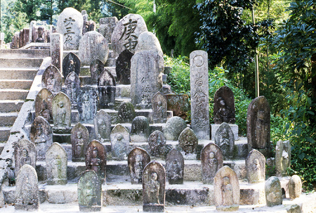 Asian cemetery
