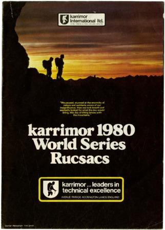 Karrimor International Ltd., 1980
