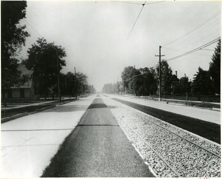 Rail Tracks along Center Street, Logan<br />
