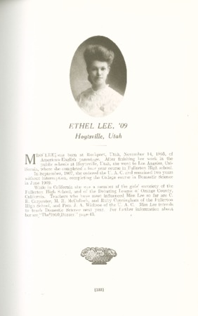 1909 A.C.U. Graduate Yearbook, Page 136
