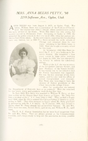 1909 A.C.U. Graduate Yearbook, Page 177