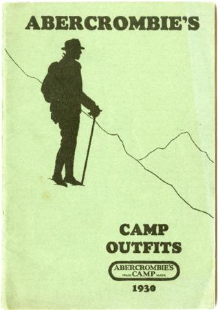 Abercrombie's Camp/David T. Abercrombie Company, 1930