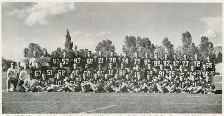 Utah State University football team, 1960-1961