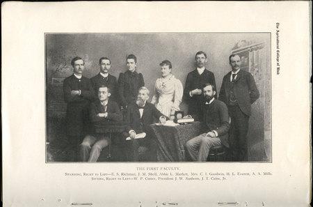 1908 UAC Commencement Program Page 8
