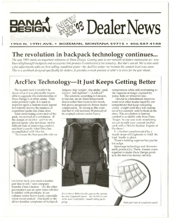 Dana Design, Dealer News 1993