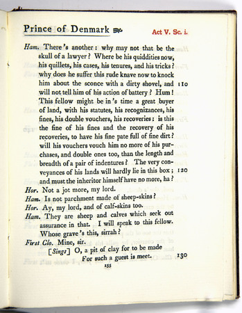 Hamlet, Act 5 Scene 1, f