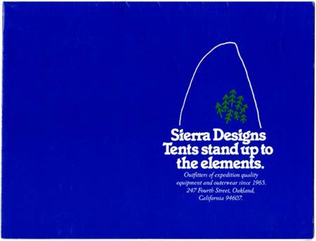 Sierra Designs, Tents, 1983