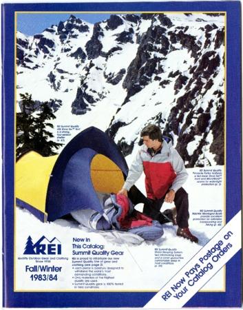 Recreational Equipment, Inc., Fall/Winter 1983-1984