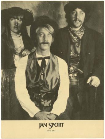 Jansport, three people, 1972