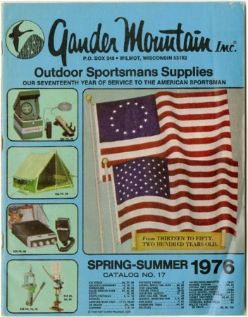 Gander Mountain Inc., Spring/Summer 1976