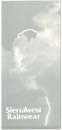 SierraWest, Rainwear, undated