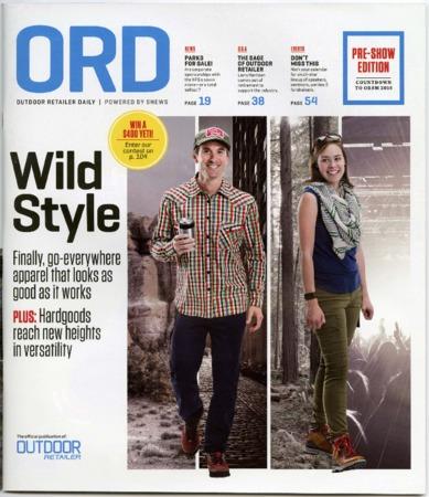 Outdoor Retailer Daily, Wild Style, 2016