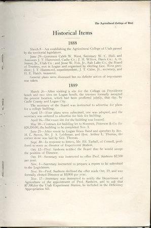 1908 UAC Commencement Program Page 9