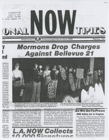 Mormons Drop Charges Against Bellevue 21