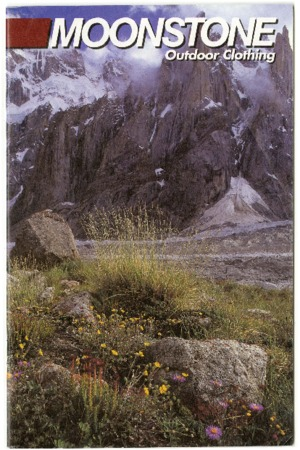 Moonstone, Outdoor Clothing, flowers and rocks, undated
