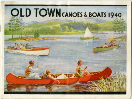 Old Town Canoe, 1940