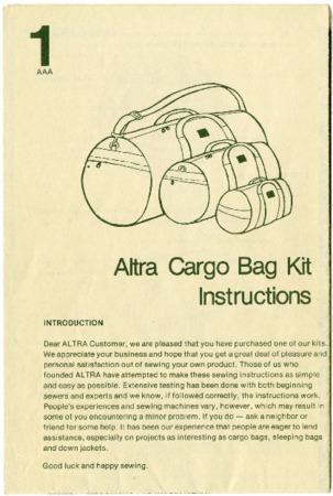 Altra Kits, 1976