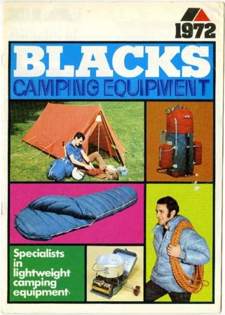 Blacks Camping Equipment, 1972