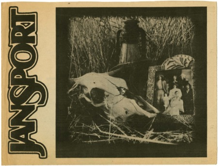 Jansport, skull, 1975