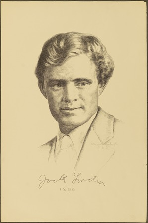 Jack London Lithograph