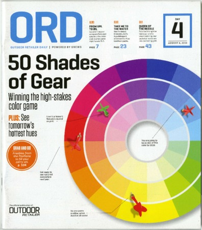 Outdoor Retailer Daily, 50 Shades of Gear, 2016