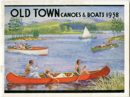 Old Town Canoe, 1938