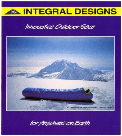 Integral Designs, Innovative Outdoor Gear For Anywhere on Earth, undated