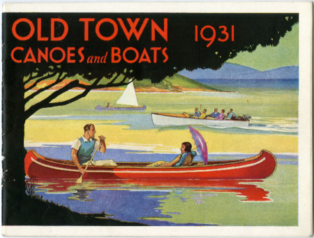Old Town Canoe, 1931