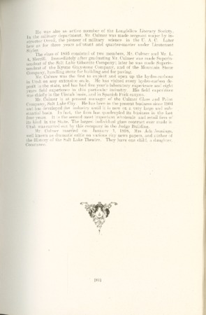 1909 A.C.U. Graduate Yearbook, Page 63