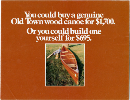 Old Town Canoe, undated