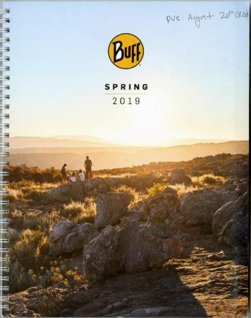 Buff, Spring 2019
