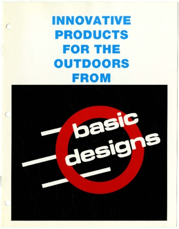 Innovative Products for the Outdoors from Basic Designs, 1990